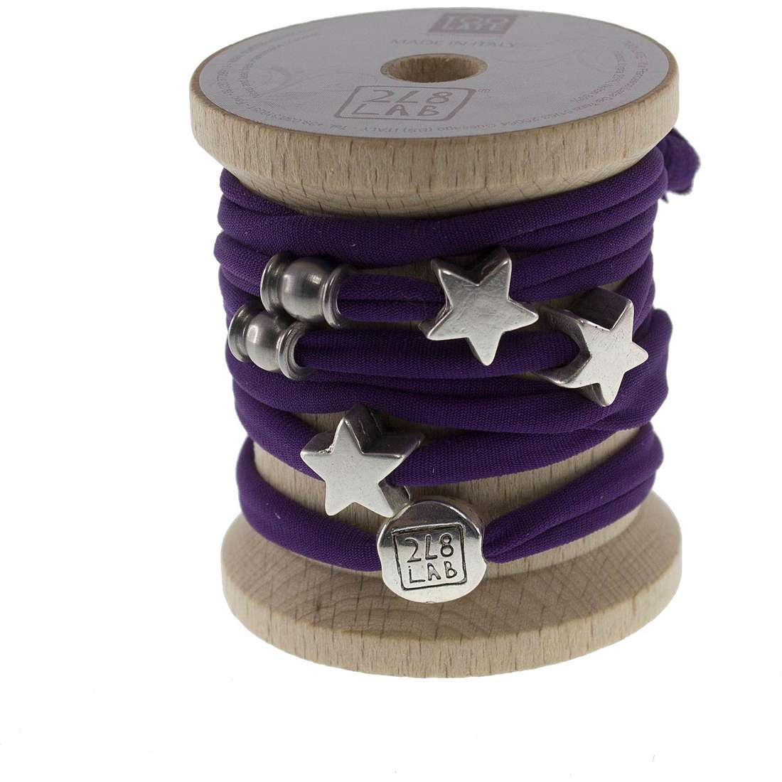 bracelet woman jewellery Too late Lycra 8506