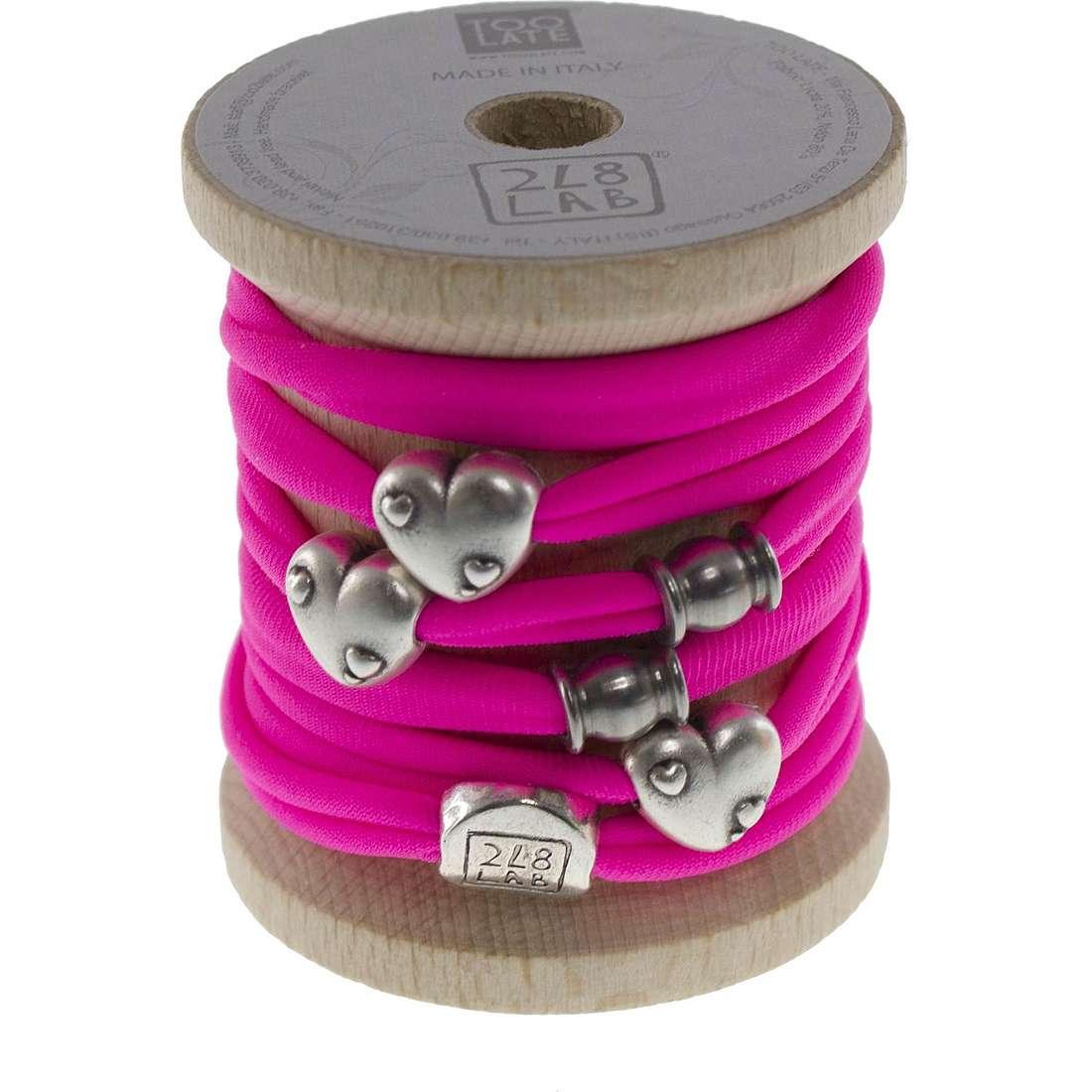 bracelet woman jewellery Too late Lycra 8551