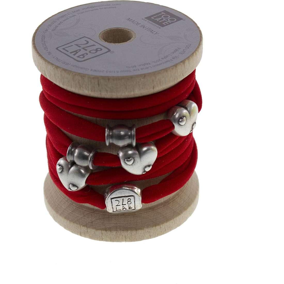 bracelet woman jewellery Too late Lycra 8605