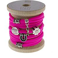 bracelet woman jewellery Too late Lycra 8674