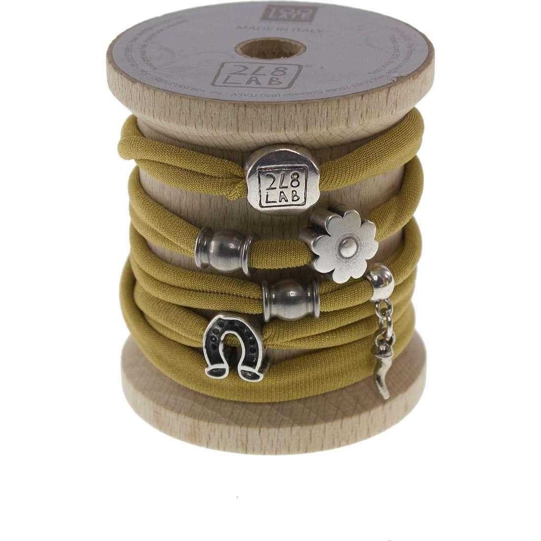bracelet woman jewellery Too late Lycra 8704