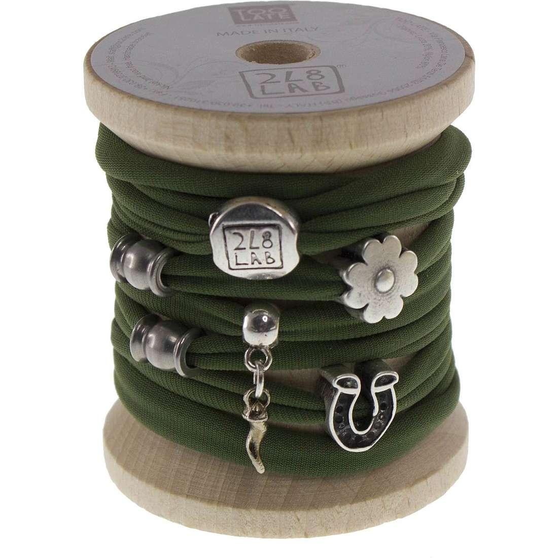 bracelet woman jewellery Too late Lycra 8711