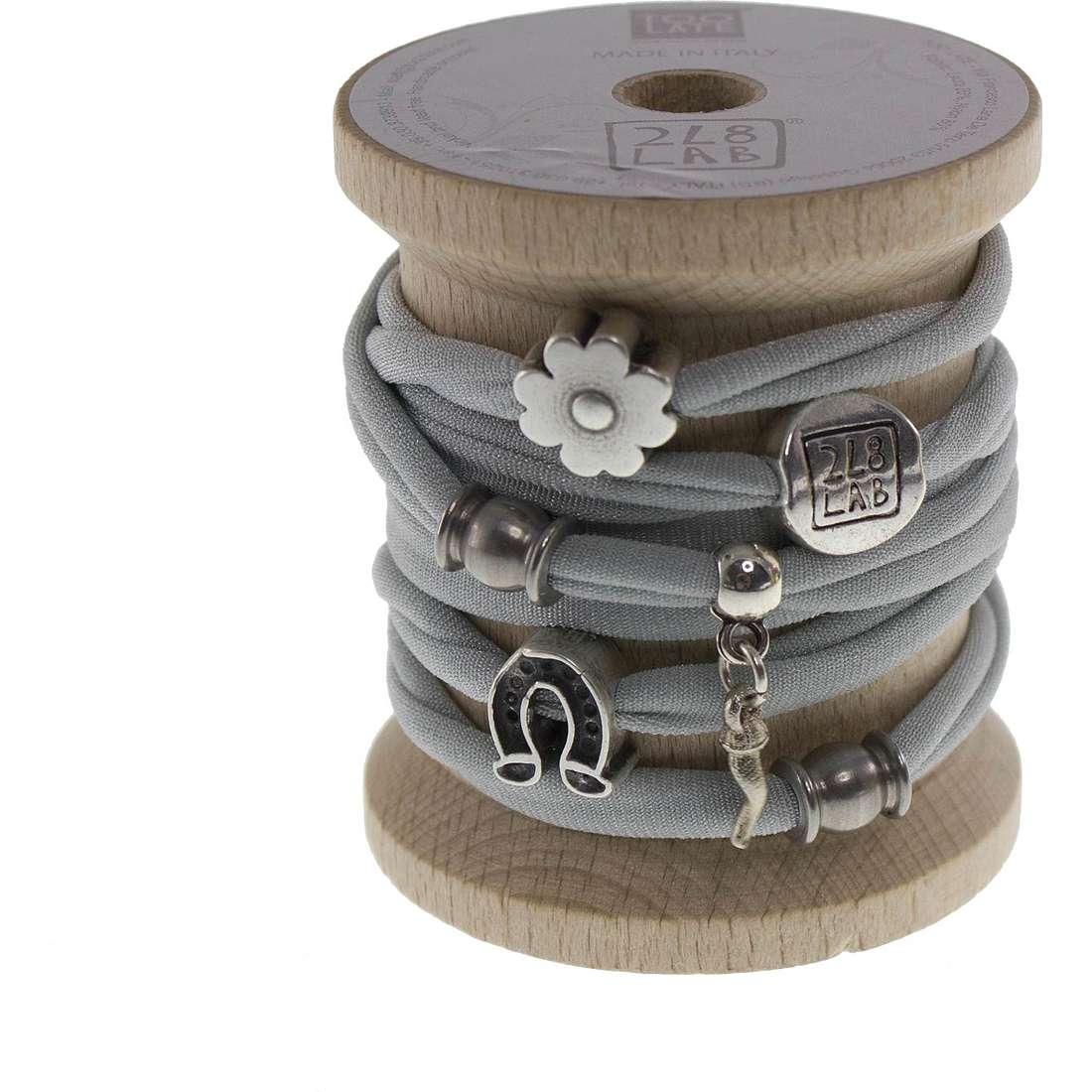 bracelet woman jewellery Too late Lycra 8735
