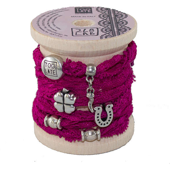 bracelet woman jewellery Too late Lycra S49589