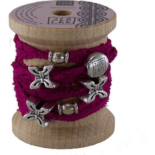 bracelet woman jewellery Too late Lycra S49640