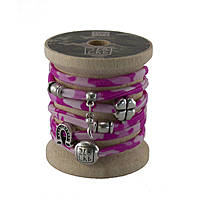 bracelet woman jewellery Too late Lycra S49664