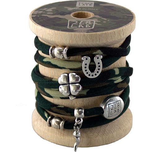 bracelet woman jewellery Too late Lycra S49695