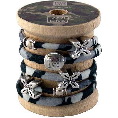 bracelet woman jewellery Too late Lycra S49886