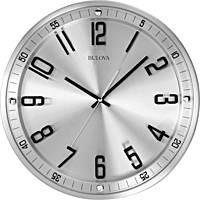 Bulova orologio a parete silver,  cassa BULC4646