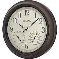 Bulova orologio da parete da esterni, resistente BULC4813