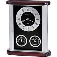 Bulova orologio da tavolo, cassa in metallo BULB7590