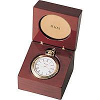 Bulova orologio da tavolo, orologio da tasca, BULB2662