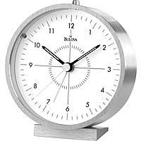 Bulova orologio da tavolo, sveglia, snooze, BULB6844