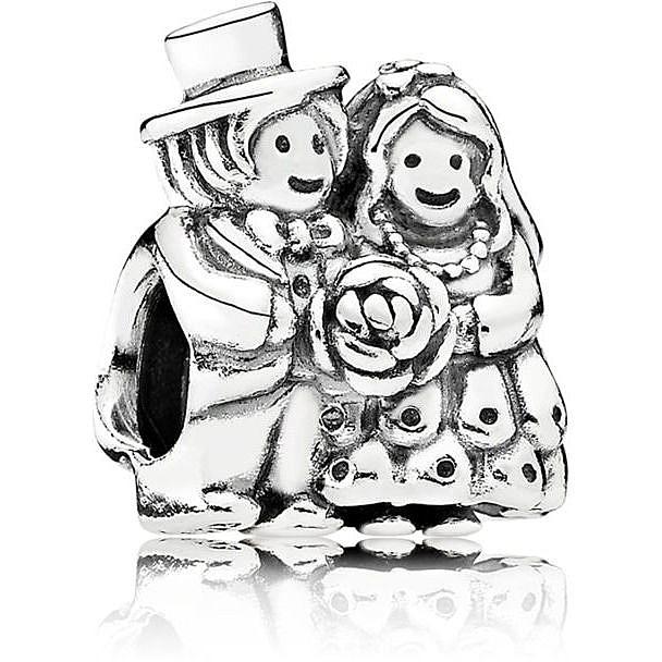 charm pandora originale sposi