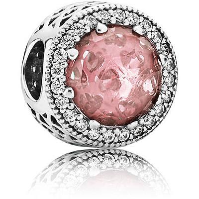 charm pandora rosa antico