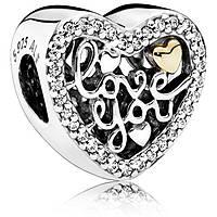 charm donna gioielli Pandora 792037cz