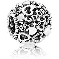 charm donna gioielli Pandora Cuori 796461