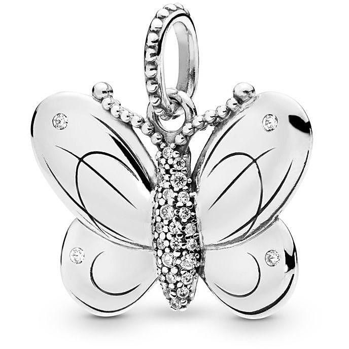 charm pandora farfalla prezzo