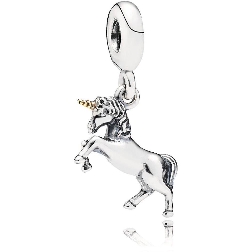 pandora charm originali unicorno