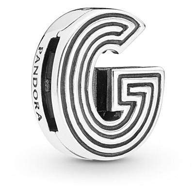 pandora charm originali lettera g