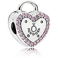 charm donna gioielli Pandora Sigillo D'Amore 796556fpc