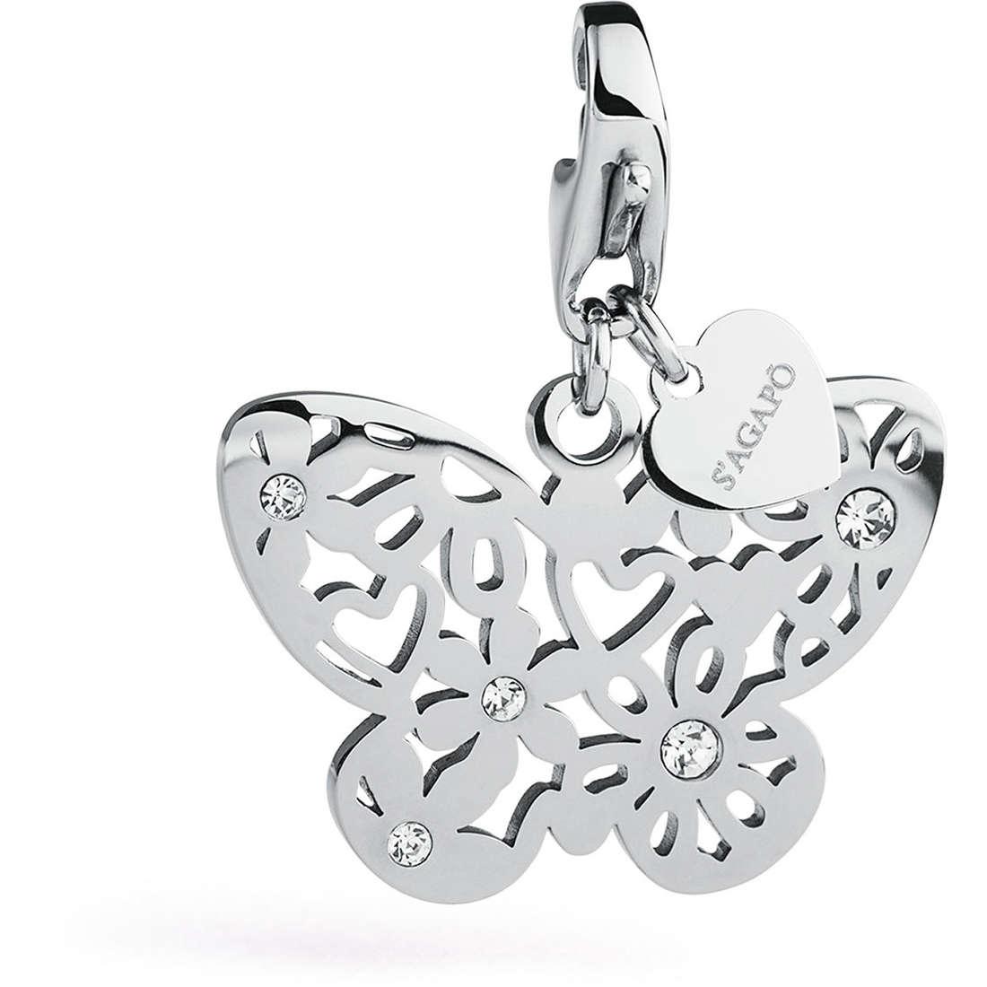 charm donna gioielli Sagapò Butterfly SHA158
