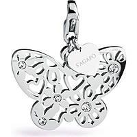 charm donna gioielli Sagapò Butterfly SHA162