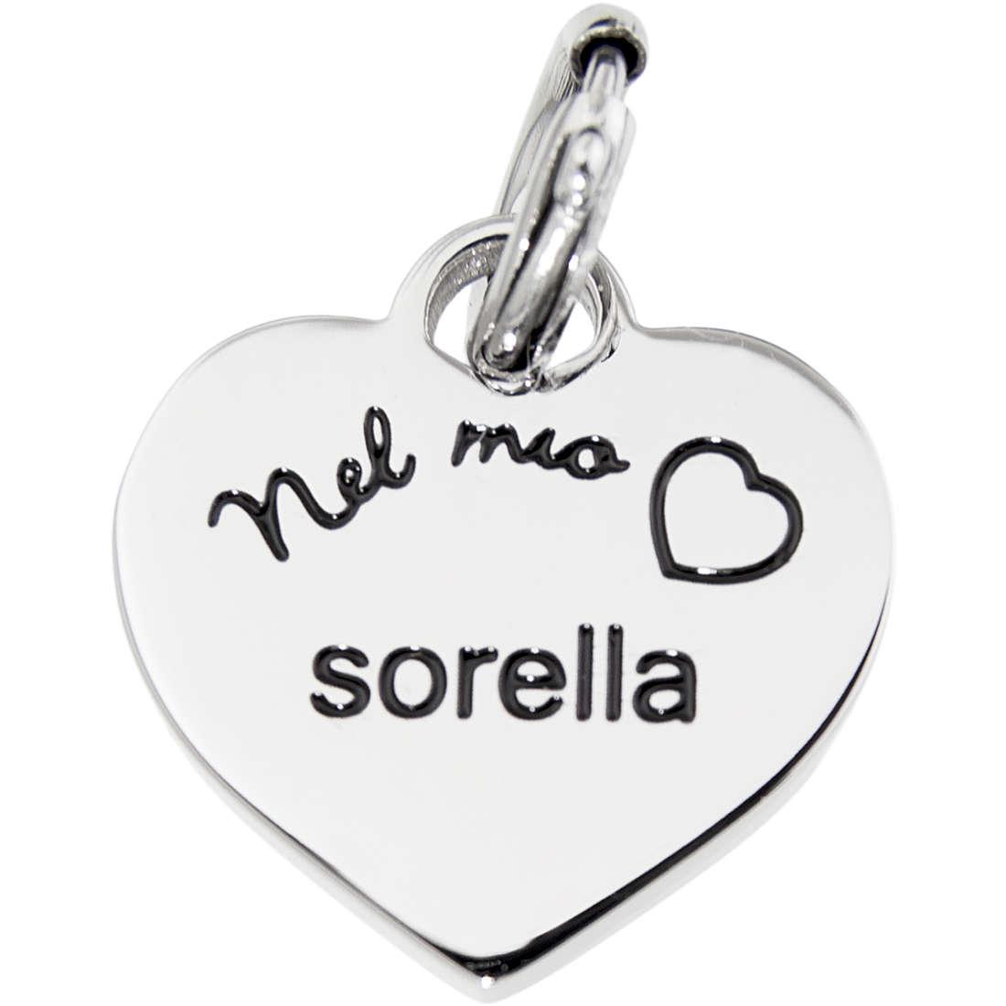 charm unisex jewellery Marlù Nel Mio Cuore 06 15CH015