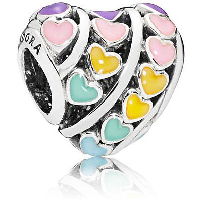 charms pandora colorati