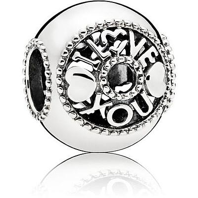 Charm Woman Jewellery Pandora I Love You 796601 Charms Pandora