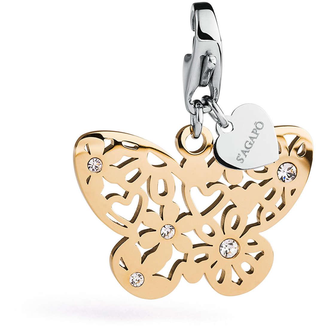 charm woman jewellery Sagapò BUTTERFLY SHA159
