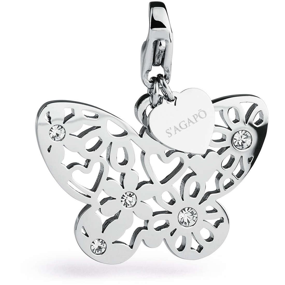 charm woman jewellery Sagapò BUTTERFLY SHA162
