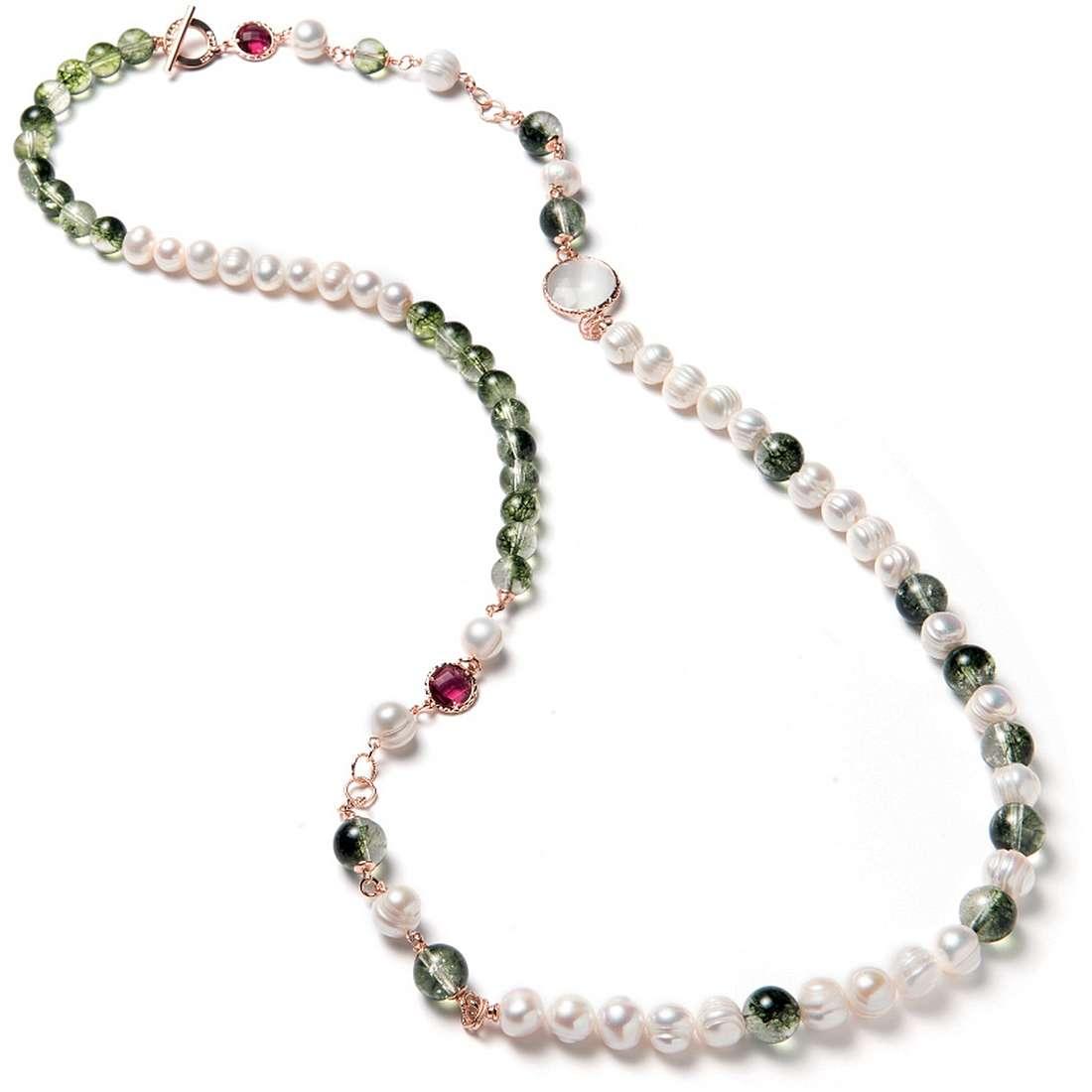 migliore a buon mercato 7a67a 65fac Collana Di Perle Di Sovrani Da Donna J3976 collane Sovrani