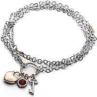collana donna gioielli 4US Cesare Paciotti Heart Code 4UCL1803W