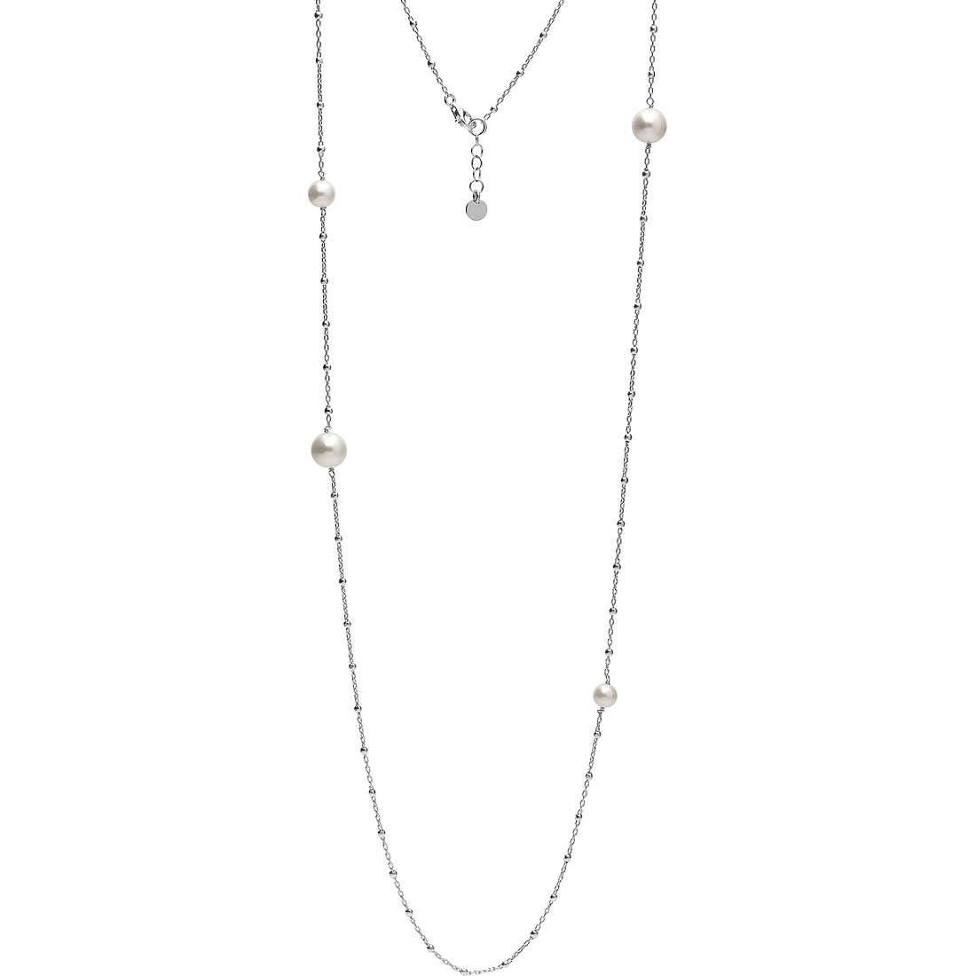 collana donna gioielli Ambrosia Black And White AAG 149