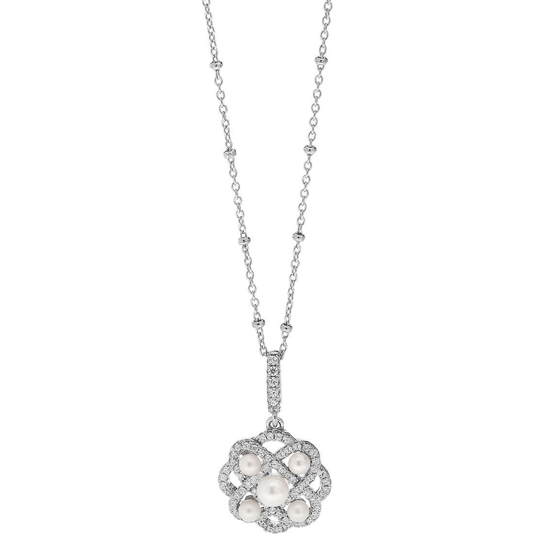 collana donna gioielli Ambrosia Glam Love AAG 158