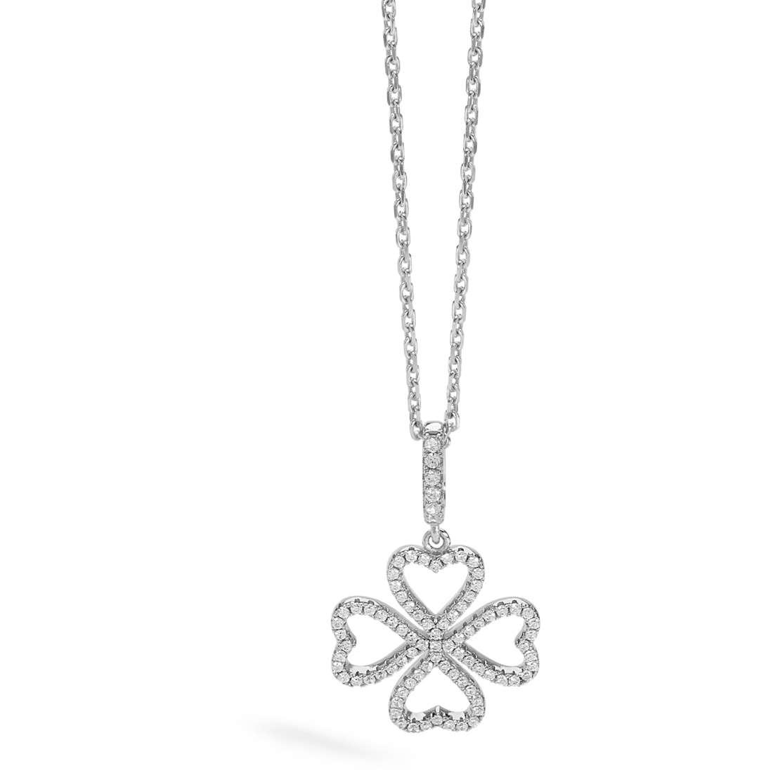 collana donna gioielli Ambrosia Glam Love AAG 176