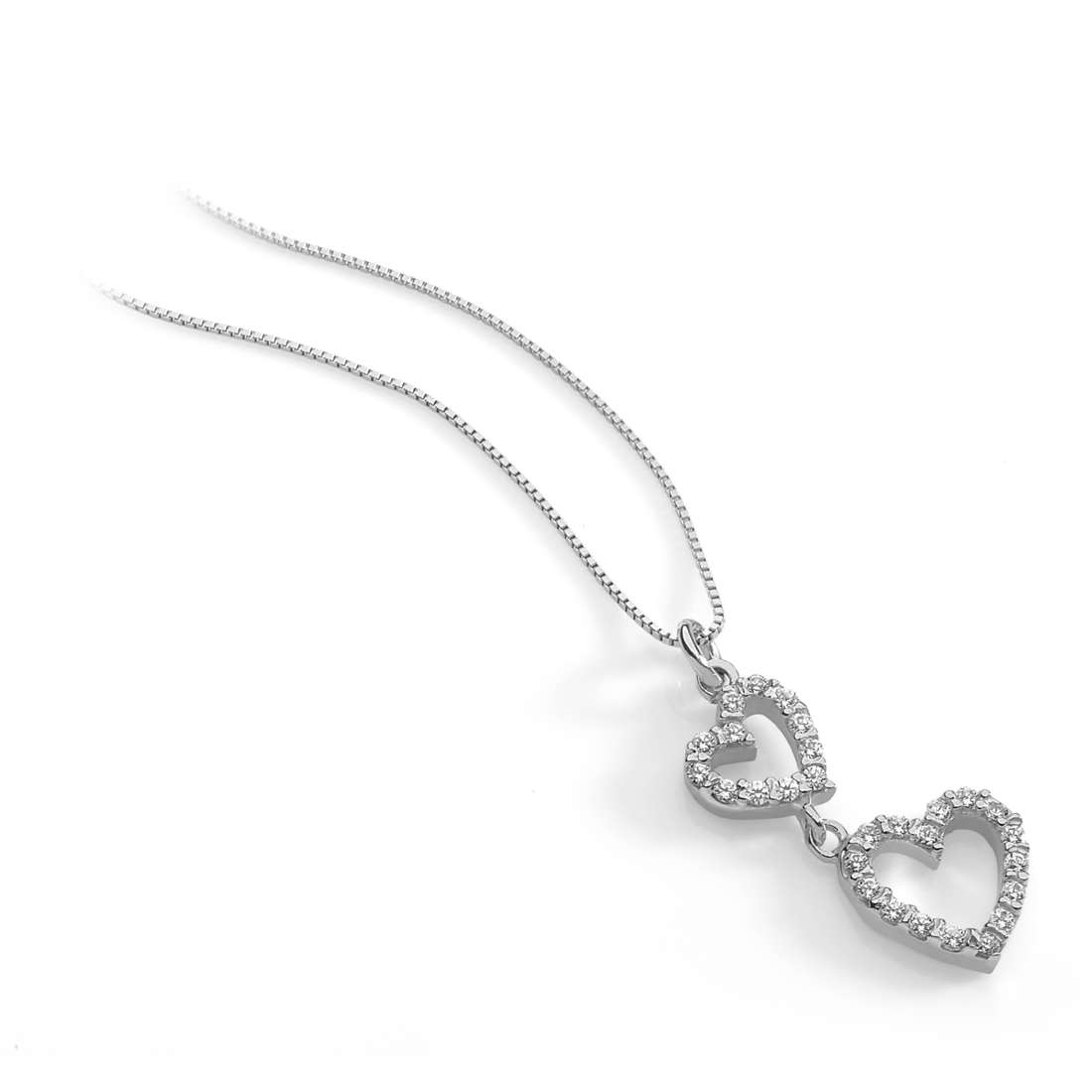 collana donna gioielli Ambrosia Glam Love AGZ 201