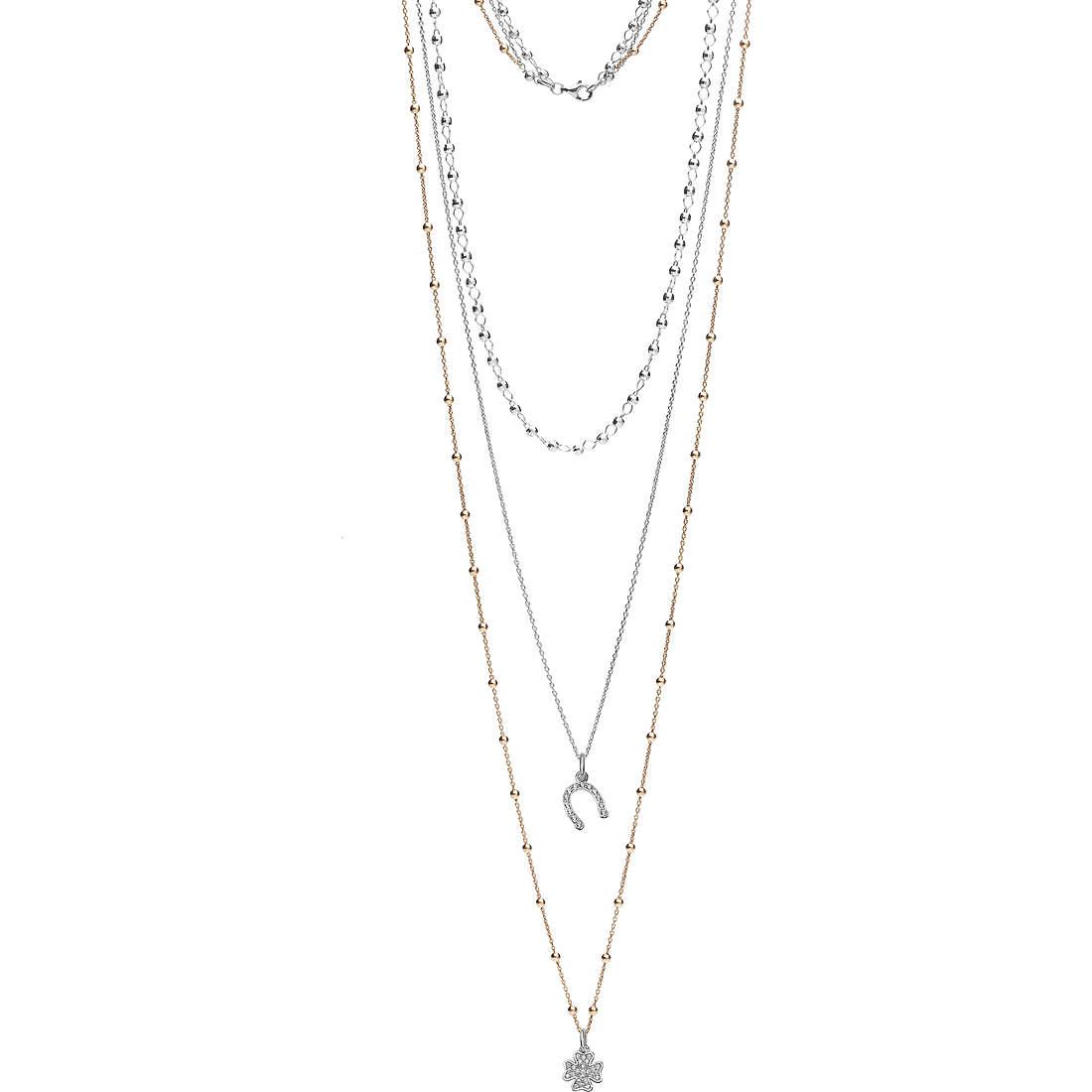 collana donna gioielli Ambrosia Seventies AAG 145