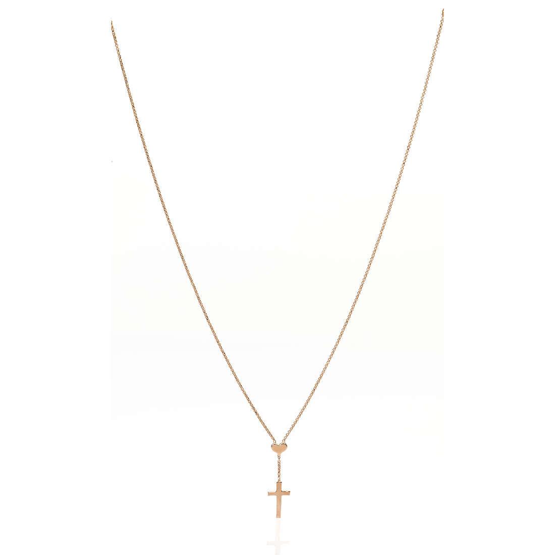 collana donna gioielli Amen Croce CLCHR