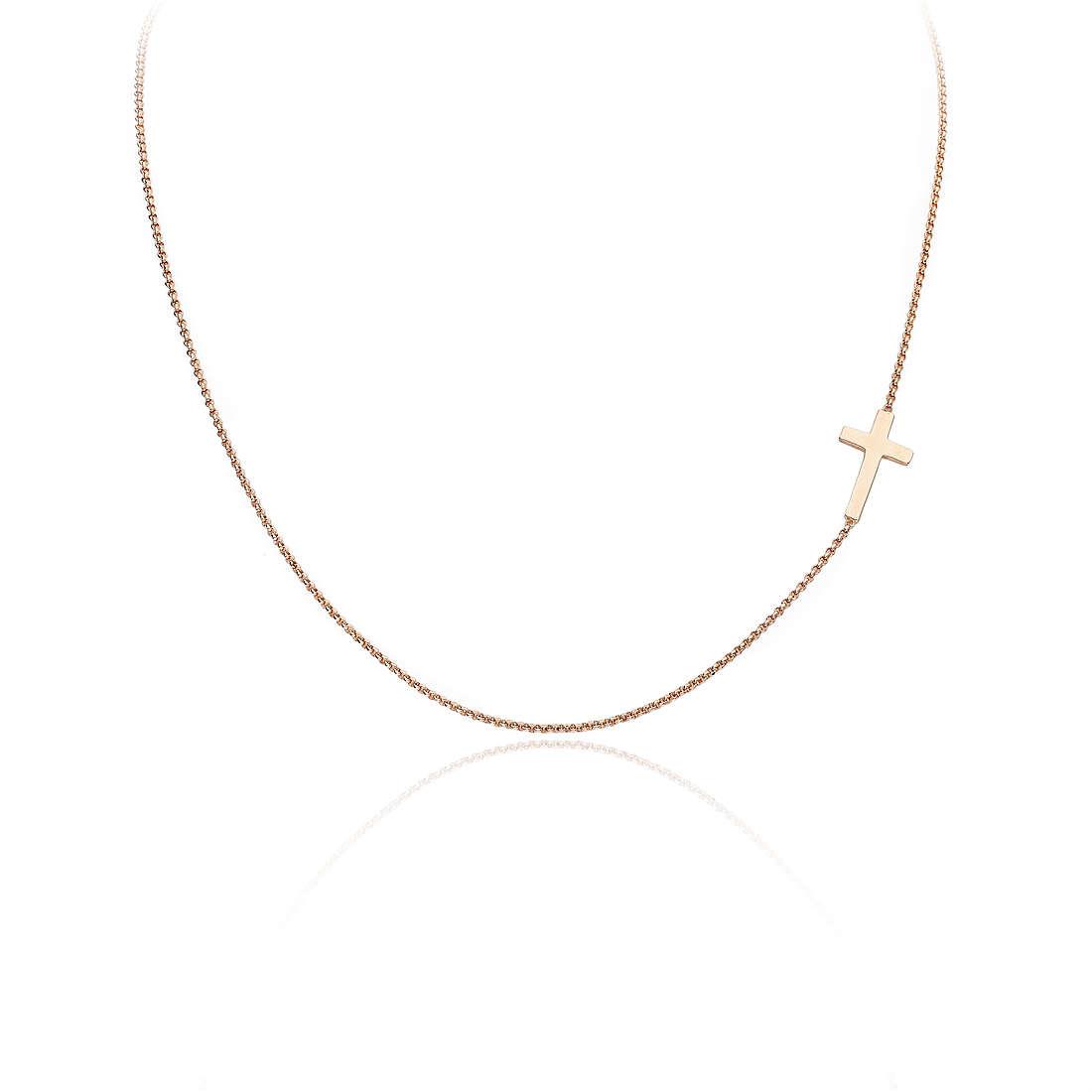 collana donna gioielli Amen Croce CLCR3