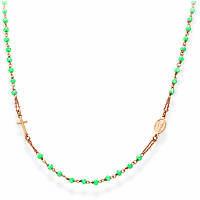 collana donna gioielli Amen Rosari CRORM3