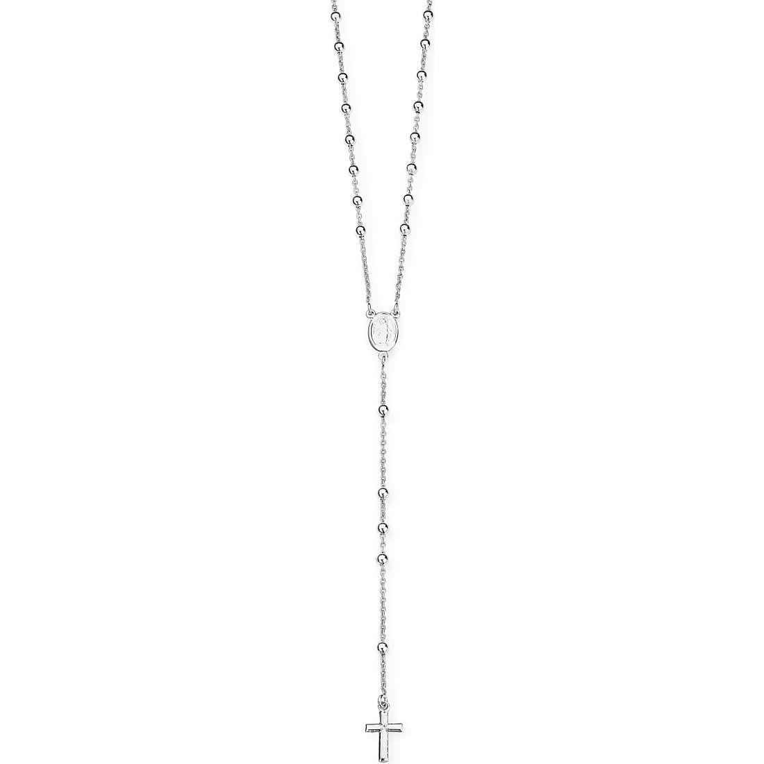 Amen collana donna gioielli rosario classico cod. clropb