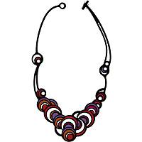 collana donna gioielli Batucada Dancing Circles BTC8-01-01-01RP