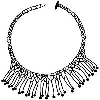 collana donna gioielli Batucada Di Maccio BTC9-07-01-01