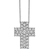 collana donna gioielli Bliss Croci Pavè 20067050