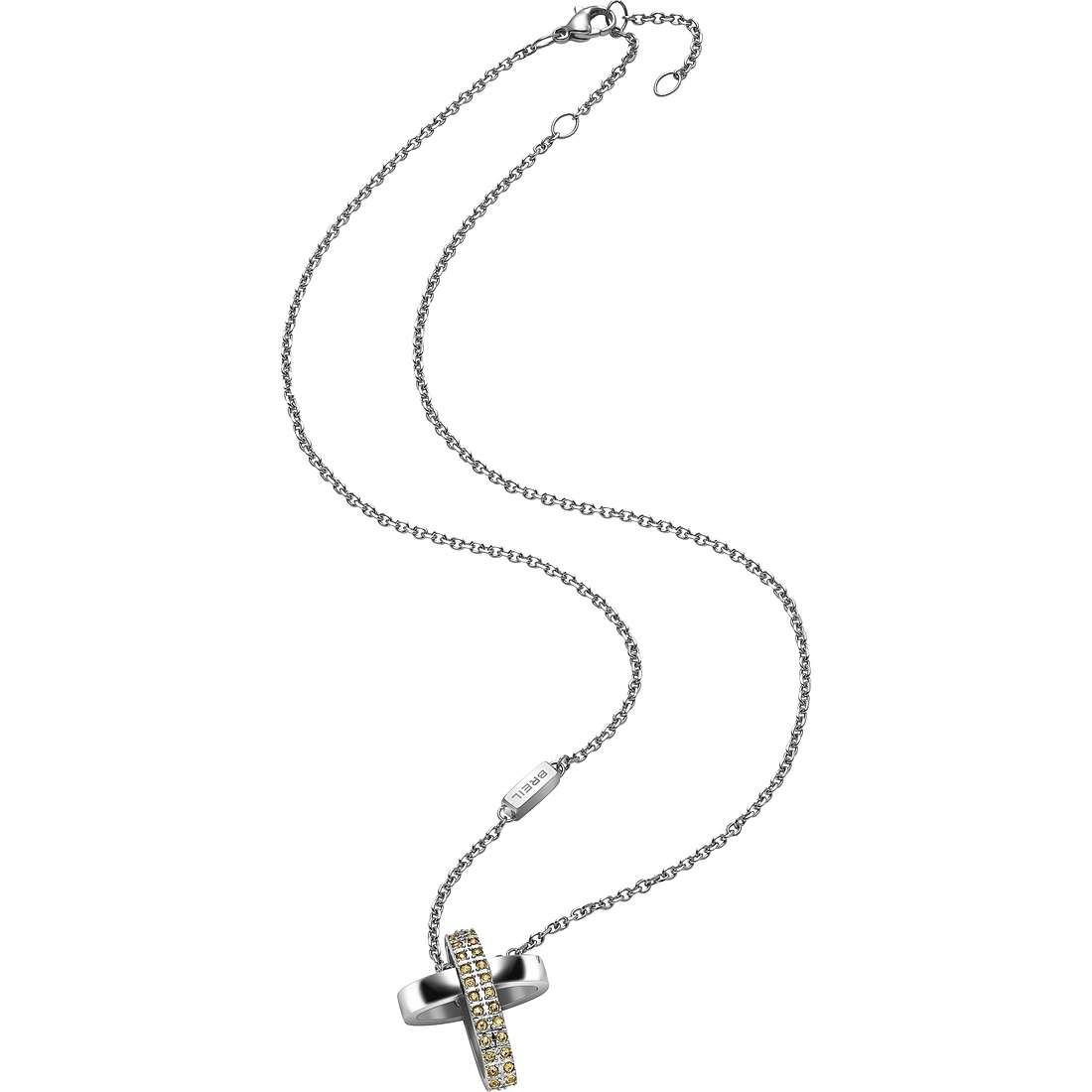 collana donna gioielli Breil Charming Cros TJ1461