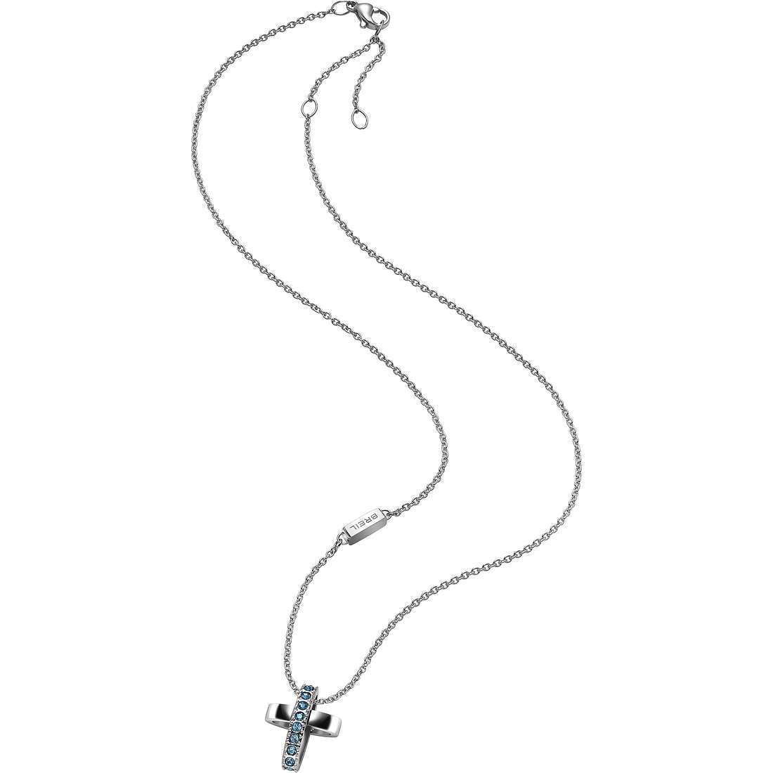 collana donna gioielli Breil Charming Cros TJ1467