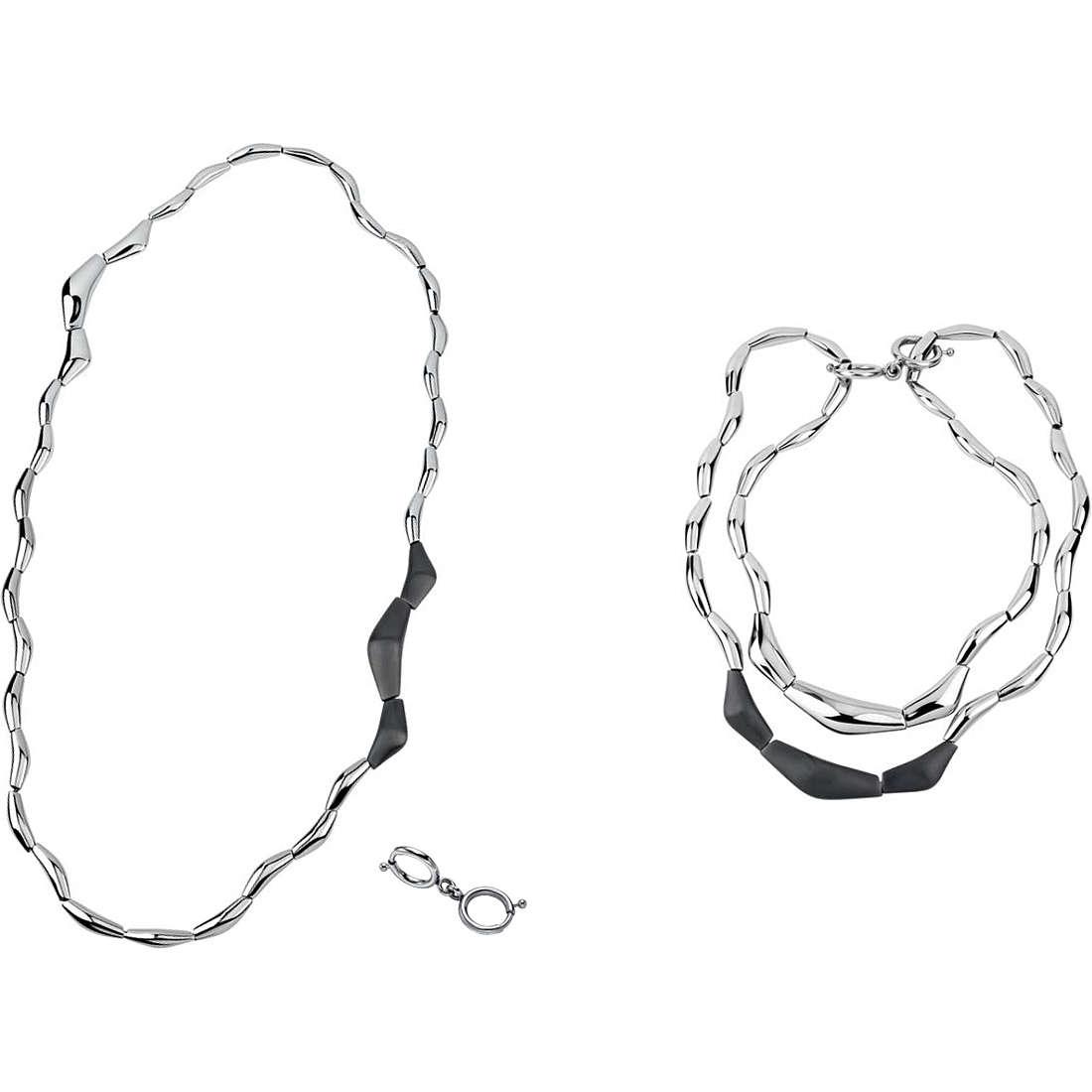 collana donna gioielli Breil Flowing TJ1819