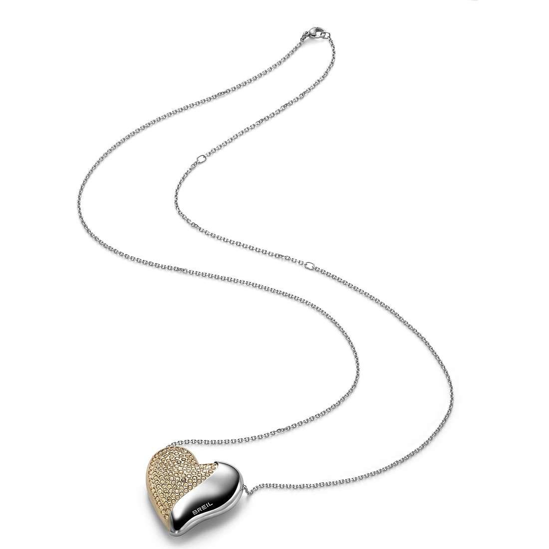 collana donna gioielli Breil HeartBreaker TJ1550